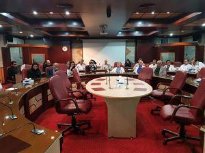 پنجمین جلسه PACC در مرکز قلب و عروق شهید رجایی: عکس شماره 8 / 12