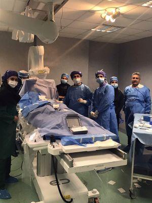 تعبیه اولین  SICD کودکان در مرکز قلب وعروق شهید رجایی: عکس شماره 4 / 12
