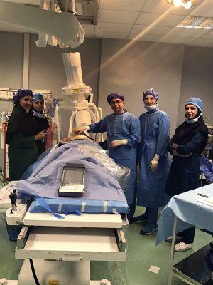 تعبیه اولین  SICD کودکان در مرکز قلب وعروق شهید رجایی: عکس شماره 8 / 12